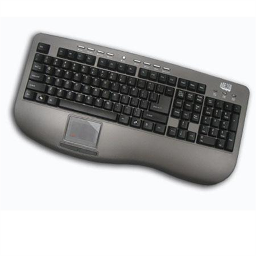 ADESSO WT PRO USB  MM TPD KEYBD  GY/BK