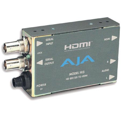 AJA HI5 HD-SDI/SDI TO HDMI V/A CONVERTR