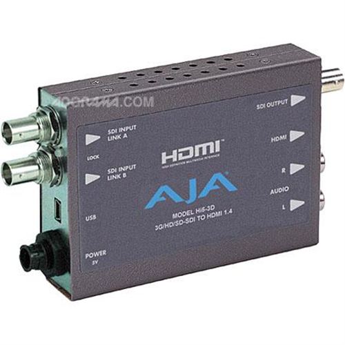 AJA HD/SD SDI TO HDMI 1.4A,3G-SDI W/CBL
