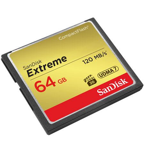 SANDISK / CF CARD / 64GB 120MB/S