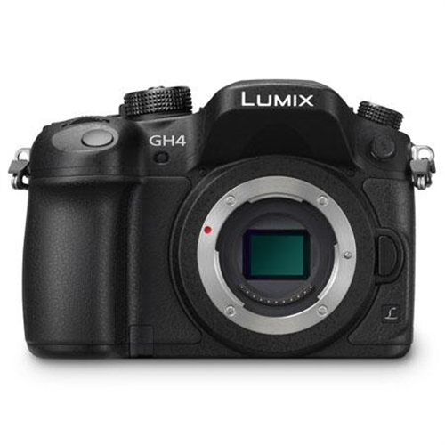 PANASNC GH4 BLK CAMERA BODY