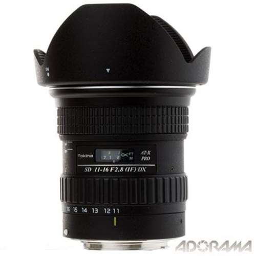 TOKINA 11-16MM/2.8 FOR CANON APS-C