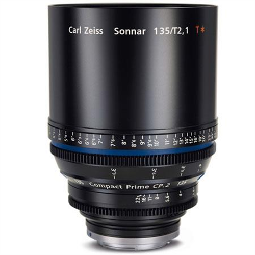 ZEISS CP2 135MM T2.1 COMPACT PRIME LENS