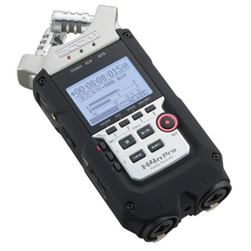 ZOOM H4N PRO HANDY 4-TRACK RECORDER