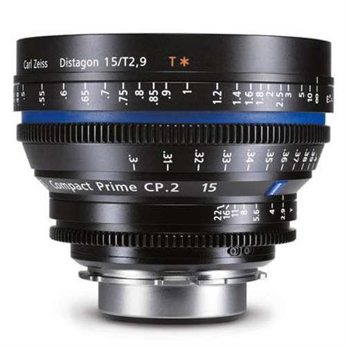 ZEISS 15MM T2.9 PL MOUNT CP2 LENS