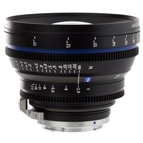 ZEISS 21MM T2.9 EF MOUNT CP2 LENS
