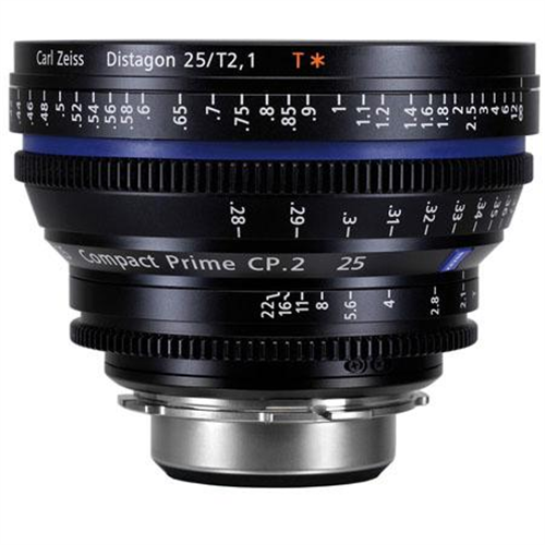 ZEISS 25MM T2.1 EF MOUNT CP2 LENS
