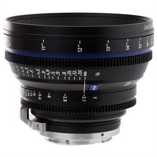 ZEISS 28MM T2.1 PL MOUNT CP2 LENS