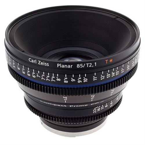 ZEISS 85MM T2.1 EF MOUNT CP2 LENS