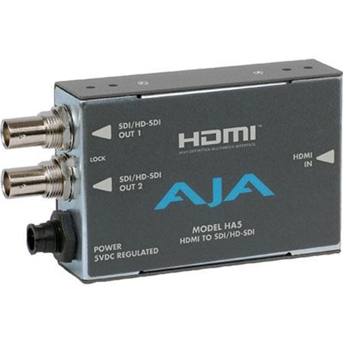 AJA HA5 HDMI TO SDI/HD-SDI V/A CONVERTR