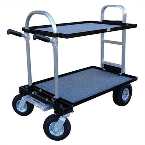 CAMERA CART WITH PNEUMATIC WHEELS
