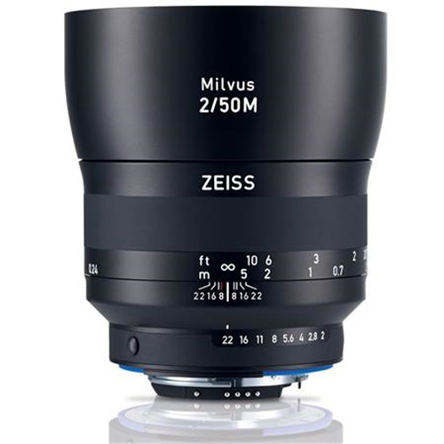 ZEISS/NIKON MILVUS 50MM/2.0 MACRO ZF.2