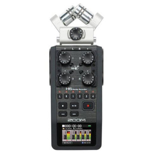 ZOOM H6 4-6CH AUDIO RECORDER KIT